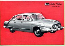 Tatra 2  603 --Mit Datenblatt--Werbung von 1964-