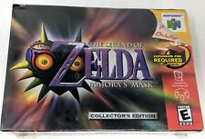 Legend of Zelda Majora's Mask Nintendo 64 Collectors Edition Brand New Sealed