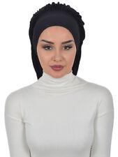 BO-25 Fertig Kopftuch Praktisch Hijab Bone Türban Esarp Sal Tesettür Turban