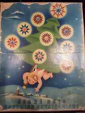* 20 Old Matchless Star Xmas Lights - Original around 1930 * working