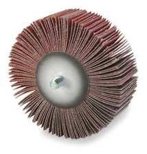 Arc Abrasives 12348 Flap Wheel,Ao,3x1x1/4-20 Shank,120G