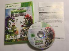 XBOX 360 GAME PLANTS Vs. ZOMBIES GARDEN WARFARE +BOX INSTRUCTIu0027 COMPLETE  PAL Vgc