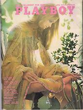 PLAYBOY APRIL 1972 Vicki Peters Rosie Holotik Jack Nicholson Mel Ramos RCVR