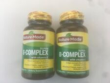 Nature Made SUPER B-COMPLEX W/Vitamin C 140 Tablets (Exp. 07/21) 2-PACK