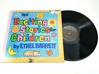 Ethel Barrett - Exciting Stories For Children - Singcord – ZLP 851 LP