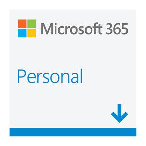 Microsoft Office 365 Personal New Full 2021 Version 5 PC Win Mac Download UK EU