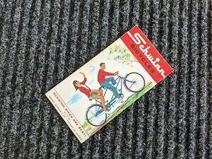 SCHWINN 1963 Bicycle Sales Catalog/Brochure Bike-Jaguar-Corvette-Tiger*NOS