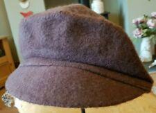 NEW Ana Peaky Blinders Hat Newsboy Flat Cap Brown Pure New Wool Baker Boy Gatsby