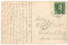 Bosnia 1914 Trnovo rare cds on postcard