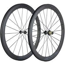 Carbon Wheels Clincher 50mm Carbon Road Bike Wheelset R13 Matte Basalt Brake