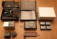 Leica M246 Monochrom Digital Rangefinder Camera, EVF2, Grip, 3 extra batteries