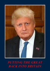 Stot21stcplanb,Supreme Leader Boris Johnson & Donald Trump signed edition 113