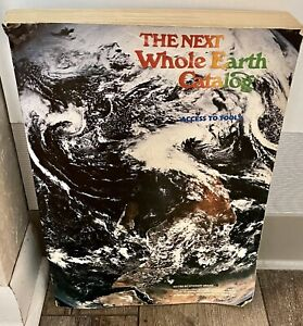 The Next Whole Earth Catalog Access to Tools 1980 Third Printing Stewart Brand