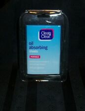 4 ~ Packs of Clean & Clear Oil Absorbing Sheets 50 Sheets Per Pack NIP
