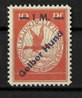 "Germany 1912 German Reich 10 pf. ""Gelber Hund (Yellow Dog) Mi.Nr. IV  SIGNED MNH"