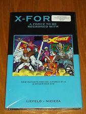 MARVEL PREMIERE CLASSIC VOL 59 X-FORCE A FORCE TO BE RECKONED WITH HB GN<