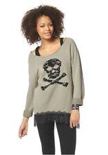 Sweatshirt mit Spitze von AJC girls in Gr.36/38 oder 44/46 NEU
