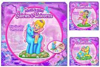Mould And Paint Fairies And Unicorns Make Your Own Fairy Ornament Set