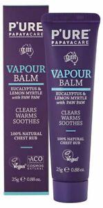 P'URE Papayacare Paw Paw Eucalyptus Vapour Balm 25g