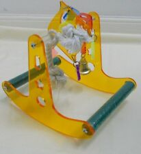 BIRD TOY - Acrylic Play Gym Parrot Toy Parrot Toy gym stand