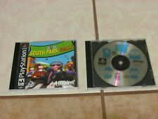 Sony PlayStation 1 PS1 LOT 2 SOUTH PARK RALLY AND SOUTH PARK