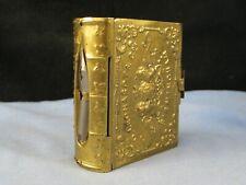 More details for leonardt antique dip pen universal nib plume pluma feder book box vesta case