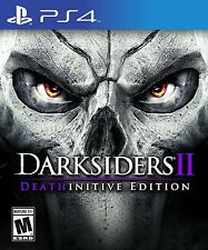NEW Darksiders II 2 Deathinitive Edition (Playstation 4, 2015)