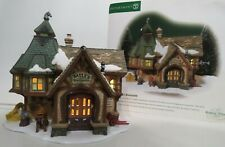 """New ListingDepartment 56 Dickens Village 2001 """"Bayly's Blacksmith"""" Lighted Christmas"""