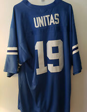 JOHNNY UNITAS BALTIMORE COLTS #19 NFL JERSEY MITCHELL & NESS SIZE 54