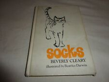 Socks by Beverly Cleary Hardcover Weekly Reader 1973