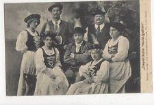 Bayerische Nachtigallen Saenger Jodler Alois Bauer 1913 Postcard  245a