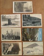 7x AK Karten Riesengebirge Talsperre Schneekoppe Kirche Wang Krkonose Postkarten