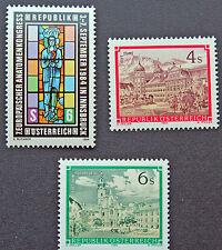 AUTRICHE timbre - Yvert et Tellier n°1619 à 1621 n** stamp Austria (cyn5)