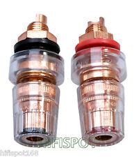 4PCS CMC-858-S-CU-R 7N Pure Copper Speaker Binding POST