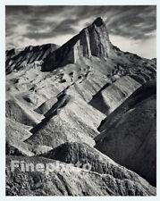 1949 Photo Engraving DEATH VALLEY California Mountain Landscape Art ANSEL ADAMS