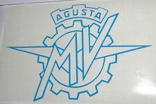 Adesivo MV AGUSTA moto auto vinyl vinile vetro window sport racing