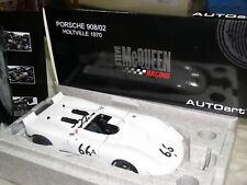 Autoart Porsche 908/02 Green Park Holtville Mcqueen Die Cast Metral modelo de coche