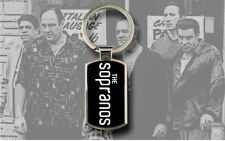 The Sopranos - Chrome Metal Rectangular Keyring