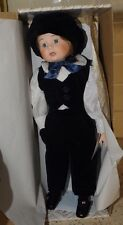 "Rare?  Vintage 17"" Porcelain Alberon Doll Peter - original box"