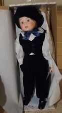 "Rare?  Vintage 17"" Porcelain Alberon Doll Peter - original box"