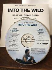 EDDIE VEDDER PROMO CD - Into the Wild (Pearl Jam PJ)  CD VERY RARE