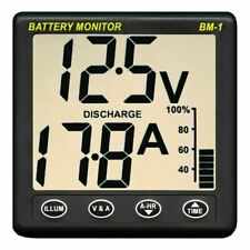 NASA Clipper BM1 Battery Monitor - 12 Volt with 5m Cable│For Marine & Boats