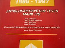 Werkstatthandbuch ABS TEVES MARK IVG  Systemdiagnose Jeep TJ XJ ZJ  1996/97