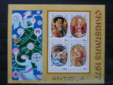 ANTIGUA '1977 **MNH BF32 YT 4,00 EUR FAMOUS PAINTINGS,PEINTRES CELEBRES,TABLEAUX