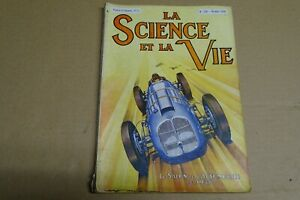 REVUE LA SCIENCE ET LA VIE N° 256 / OCTOBRE-1938/ LE SALON DE L'AUTOMOBILE 1938