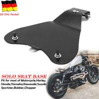 Motorrad Solo Sitz Grundplatte Sattel Sitzbasis Für Harley Bobber Chopper Honda