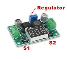 LED Lm2596 Voltage Regulator Step-down Buck Converter Module 4-40v in 1-35v out