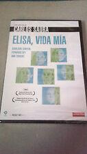 """DVD """"ELISA, VIDA MIA"""" PRECINTADA CARLOS SAURA GERALDINE CHAPLIN FERNANDO REY"""