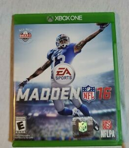 Madden NFL 16 for Xbox One XBOX-ONE(XB1) Sports. Disc and Case