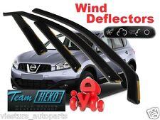 NISSAN QASHQAI 5D 2007 - 2014  Wind deflectors  4.pc HEKO 24257